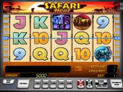 Safari heat slotgames77.com Greentube 1/5