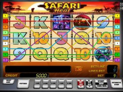 Safari heat slotgames77.com Greentube 3/5