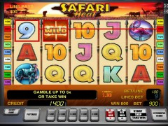 Safari heat slotgames77.com Greentube 4/5
