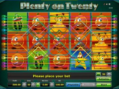 Plenty on twenty slotgames77.com Novoline 2/5