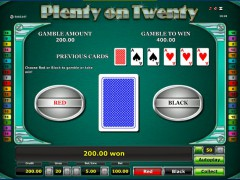 Plenty on twenty slotgames77.com Novoline 5/5