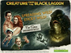 Creature from the Black Lagoon slotgames77.com NetEnt 1/5
