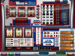 Red White Blue slotgames77.com Simbat 1/5