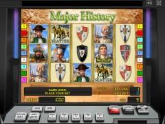 Major History slotgames77.com Novomatic 1/5