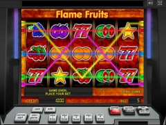 Flame Fruits slotgames77.com Novomatic 3/5