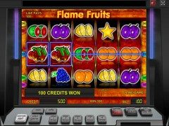 Flame Fruits slotgames77.com Novomatic 4/5