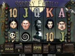 Spooky Family slotgames77.com iSoftBet 1/5