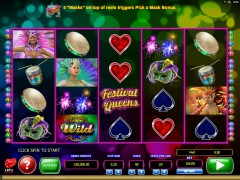 Festival Queens - Microgaming