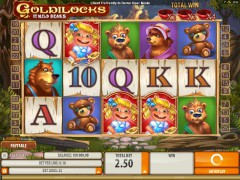 Goldilocks And The Wild Bears slotgames77.com Quickfire 1/5