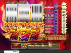 Scorching Sevens slotgames77.com Saucify 3/5