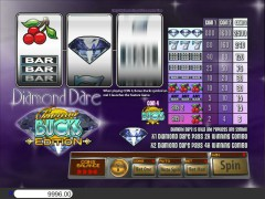 Diamond Dare Bonus Bucks slotgames77.com Saucify 3/5