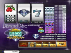 Diamond Dare Bonus Bucks slotgames77.com Saucify 4/5