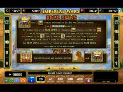 Imperial Wars slotgames77.com Euro Games Technology 3/5