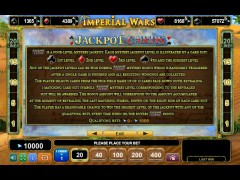 Imperial Wars slotgames77.com Euro Games Technology 5/5
