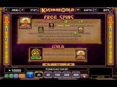 Kashmir Gold slotgames77.com Euro Games Technology 3/5