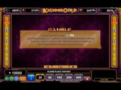 Kashmir Gold slotgames77.com Euro Games Technology 4/5