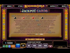 Kashmir Gold slotgames77.com Euro Games Technology 5/5
