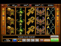 Rise of Ra slotgames77.com Euro Games Technology 1/5