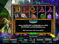 Merlins Millions Superbet - NYX Interactive