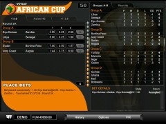 Virtual African Cup slotgames77.com 1X2gaming 3/5