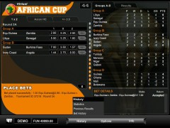 Virtual African Cup slotgames77.com 1X2gaming 5/5