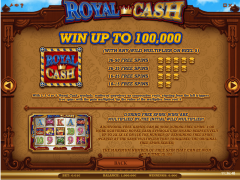 Royal Cash slotgames77.com iSoftBet 2/5