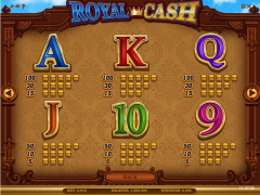 Royal Cash slotgames77.com iSoftBet 5/5