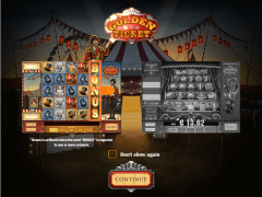 Golden Ticket slotgames77.com Play'nGo 1/5