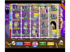 Careless Zombies 40 Lines slotgames77.com Wirex Games 1/5