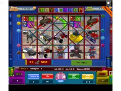 Toy Shop 9 Lines slotgames77.com Wirex Games 1/5