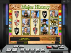 Major History slotgames77.com Greentube 1/5