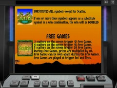 Wild Africa slotgames77.com Greentube 3/5