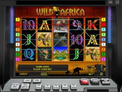 Wild Africa slotgames77.com Greentube 4/5