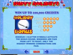Happy Holidays slotgames77.com iSoftBet 2/5