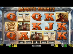 Bandit's Bounty slotgames77.com World Match 1/5