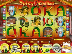 Spicy Chillies slotgames77.com iSoftBet 1/5