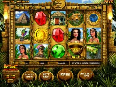 Aztec Treasures 3D slotgames77.com Greentube 1/5
