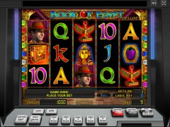 Book of Egypt Deluxe slotgames77.com Greentube 1/5