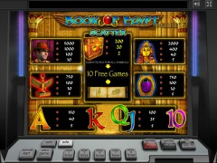 Book of Egypt Deluxe slotgames77.com Greentube 2/5