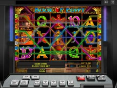 Book of Egypt Deluxe slotgames77.com Greentube 3/5