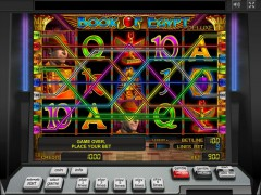 Book of Egypt Deluxe slotgames77.com Greentube 4/5