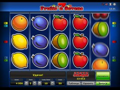 Fruits 'n Sevens slotgames77.com Greentube 5/5