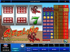 Sizzling Scorpions slotgames77.com Microgaming 2/5