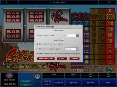 Sizzling Scorpions slotgames77.com Microgaming 3/5