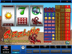 Sizzling Scorpions slotgames77.com Microgaming 4/5