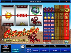 Sizzling Scorpions slotgames77.com Microgaming 5/5