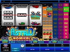 Astronomical slotgames77.com Microgaming 1/5