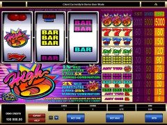 High Five slotgames77.com Microgaming 1/5