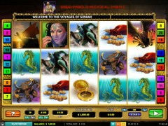 The Voyages of Sinbad slotgames77.com Leander Games 1/5