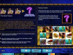 The Voyages of Sinbad slotgames77.com Leander Games 3/5